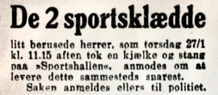 Aftenposten, 1909