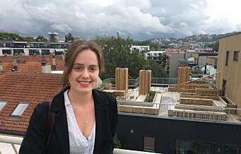– Nesten alle utleiere jeg møter har svært mange personer på døra, sier student Émilie Pascale