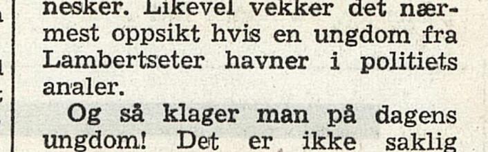 Trykkfeil i Arbeiderbladet, 1962