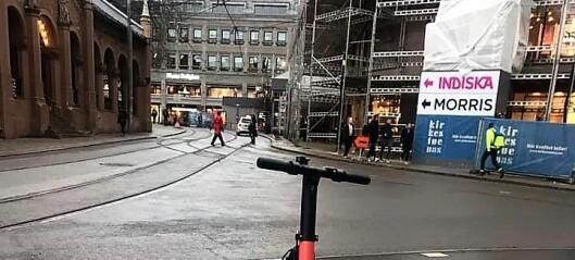 Oslo SV vil at elsparkesyklene skal bli en del av Ruter