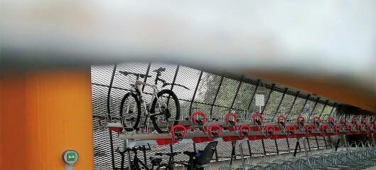 Sykkelhotellet på Rosenholm: Kostet råflotte fem millioner å bygge. Kun 29 abonnementer innløst på tre måneder
