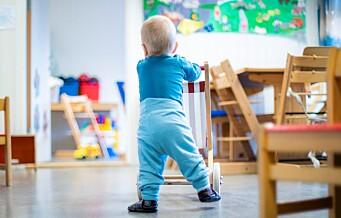 I morgen klokka 23.59 er det frist for å søke barnehageplass i Oslo