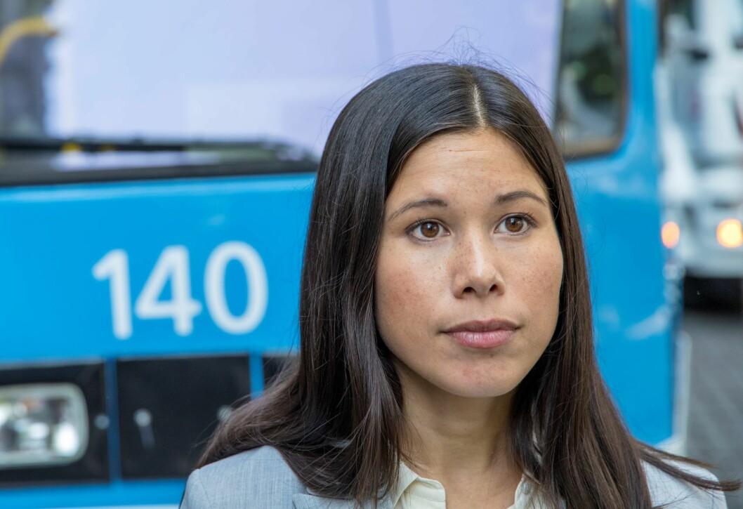 Oslos miljø- og samferdselsbyråd Lan Marie Berg (MDG) vil at Oslo skal vedta klimakrise. Foto: Ole Berg-rusten / NTB scanpix