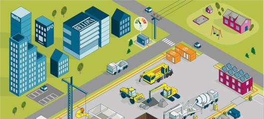 Oslo er utstillingsvindu for hvordan andre kommuners byggeplasser kan bli utslippsfrie