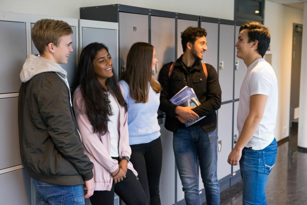 - Debatten om fritt skolevalg handlet om retten elever burde ha til å forme sin egen fremtid. Foto: Thomas Brun / NTB scanpix