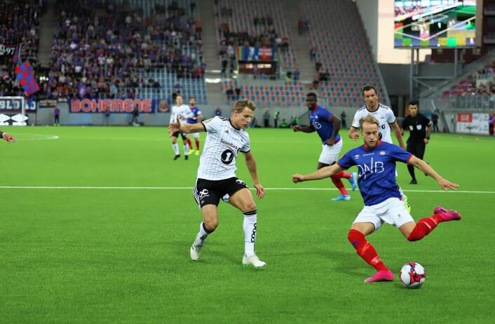Bård Finne var god i første omgang. Foto: André Kjernsli