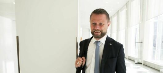 SV krever svar om Ullevål sykehus fra helseminister Bent Høie (H) før valget