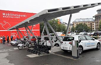 Trenger du elbil, elsykkel eller elsparkesykkel? Nå kan alt ordnes på ett sted på Filipstad