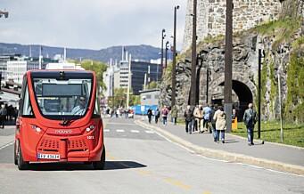 – Oslo er blitt verdens fremste testlaboratorium for elektrisk transport
