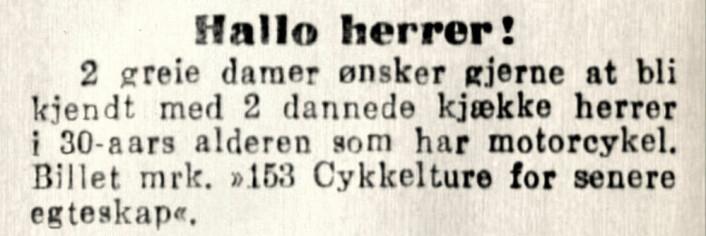 Aftenposten, 1919
