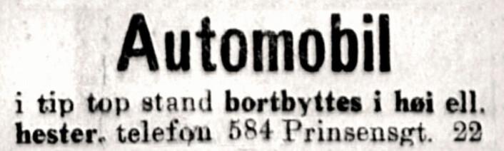 Aftenposten, 1918
