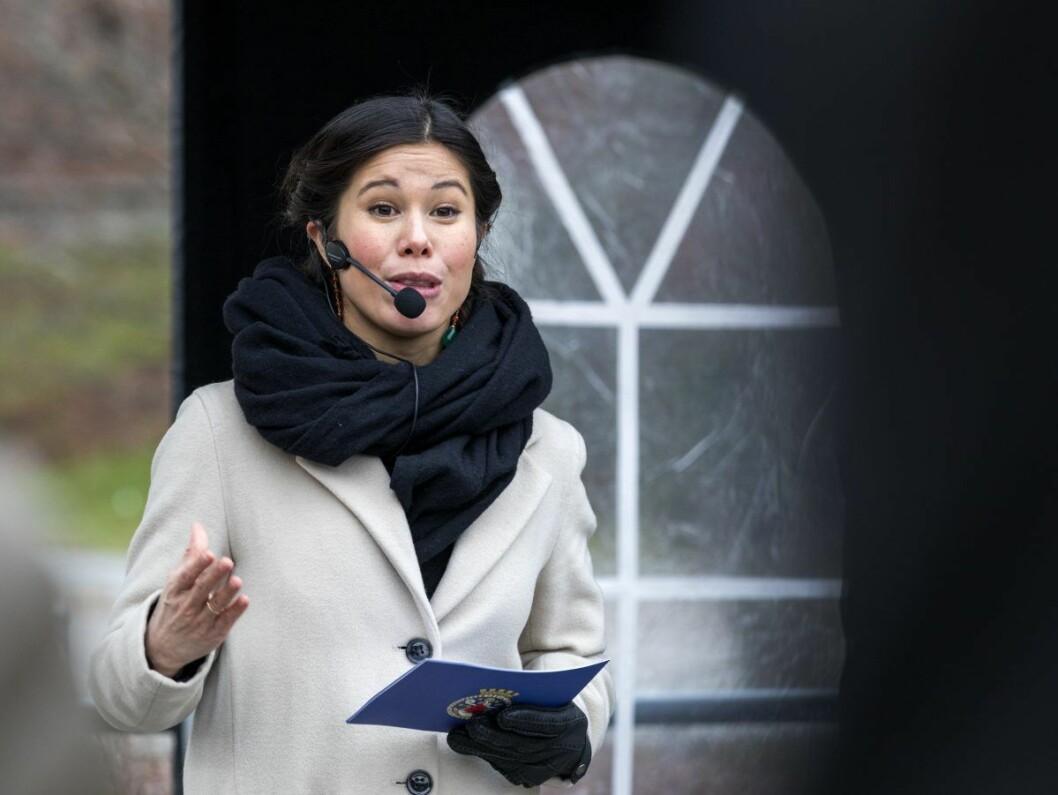Etter at miljøbyråd Lan Marie Berg (MDG) har orientert om lovbrudd ved energigjenvinningsetaten, er det ventet hardkjør mot henne fra opposisjonen i bystyrets spørretime.   Foto: Gorm Kallestad / NTB scanpix
