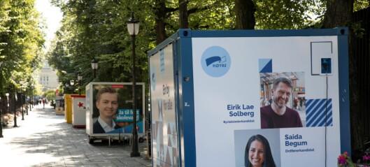 – Høyre kommuniserer mitt bilde av partiet – en massiv konstruksjon, konservativ og litt kjedelig