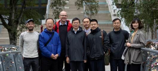 Kina ser til Oslo for å lære om vann og vannforvaltning