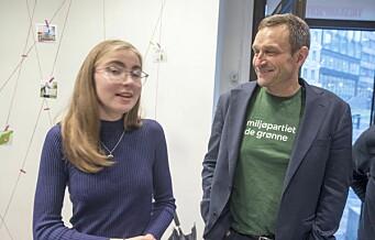 Ungdommen farger Oslo rødgrønn. MDG og SV fosset frem i skolevalget