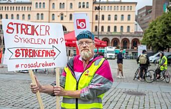 Foodora-streiken trappes opp: 53 nye sykkelbud tas ut i streik