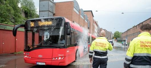 Nye tall fra brannvesenet: Hyppigere styrtregn og flom i Oslo skaper problemer
