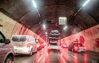 Festningstunnelen i Oslo stenges i over ett år
