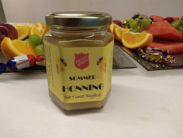 Honningen selges via Jobben Oslos Facebook-sider. Foto: Arnsten Linstad
