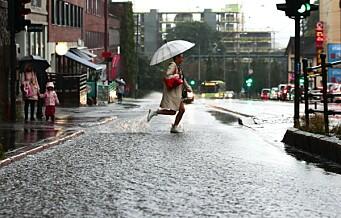 Allerede våtere september enn normalt i Oslo