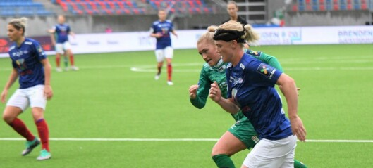 Lynvingen Rikke Marie Madsen forlenger kontrakten med Vålerenga damer