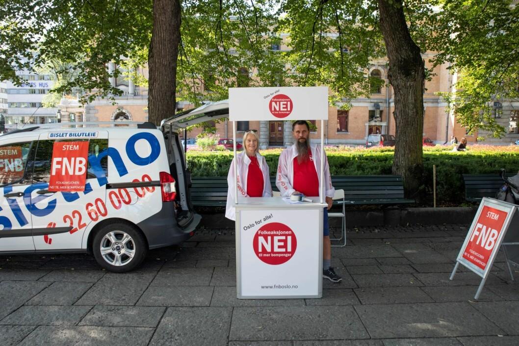 FNB har i løpet av kort tid klart å bryte seg inn i det etablert politiske landskapet. Foto:  Foto: Olav Helland