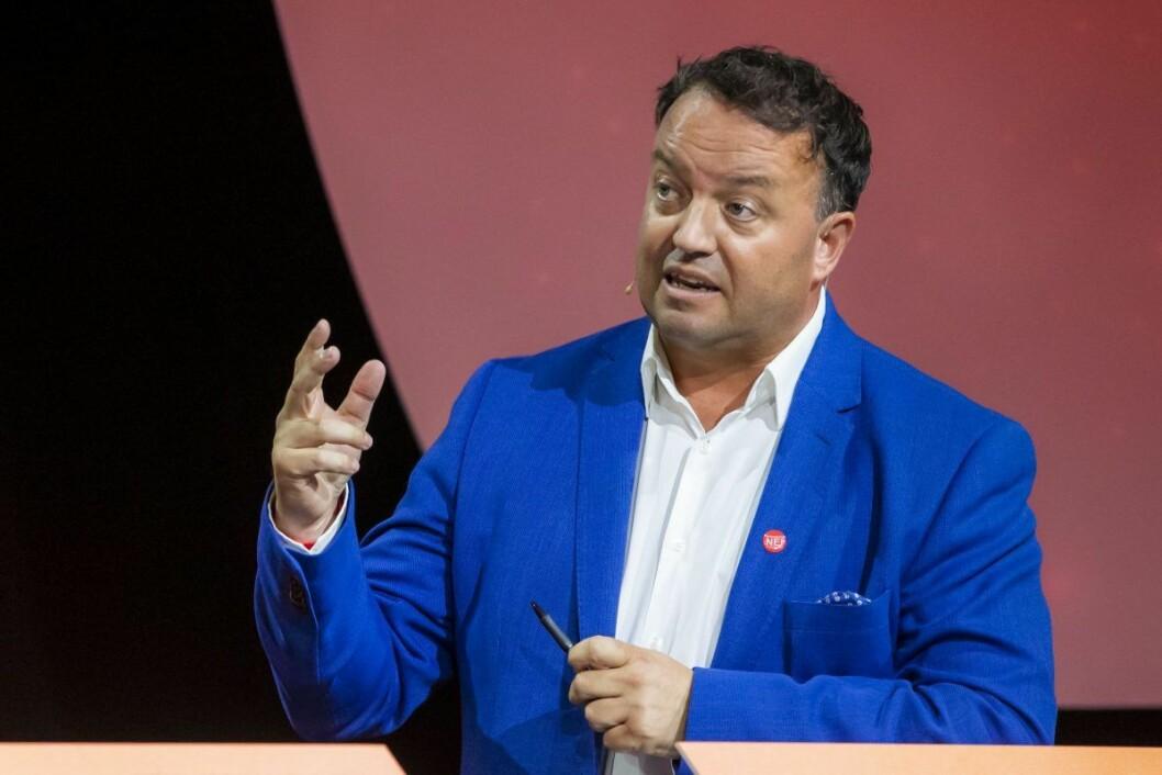 Partileder og FNB-grunnlegger Frode Myrhol sier til Aftenbladet at Oslo-avdelingen ikke er medlem i partiet og derfor ikke kan påberope seg tilknytning til FNB. Foto: Håkon Mosvold Larsen / NTB scanpix