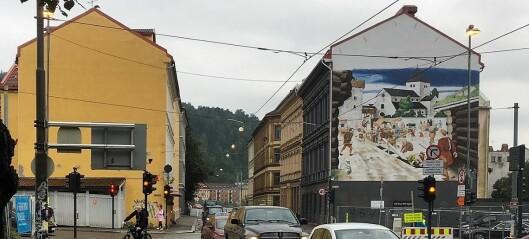 Bommen i Oslogate skal egentlig regulere rushtidstrafikken, men er ute av drift. Resultat: Gata brukes som innfartsåre til sentrum