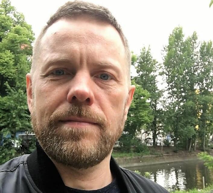 Lars Toft-Eriksen tar trikken gjennom Oslo gate hver dag og må beregne ekstra lang tid på grunn av kaoset. Foto: Privat