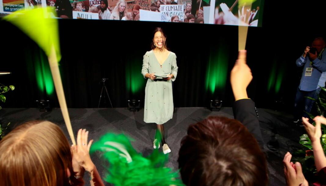 Byråd for miljø og samferdsel Lan Marie Nguyen Berg (MDG) er listetopp i Oslo. MDGs kandidater fra er på topp også mange andre steder i landet.