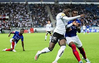 Albueslag mot VIFs Sam Adekugbe gir tre kampers karantene for RBKs Akintola