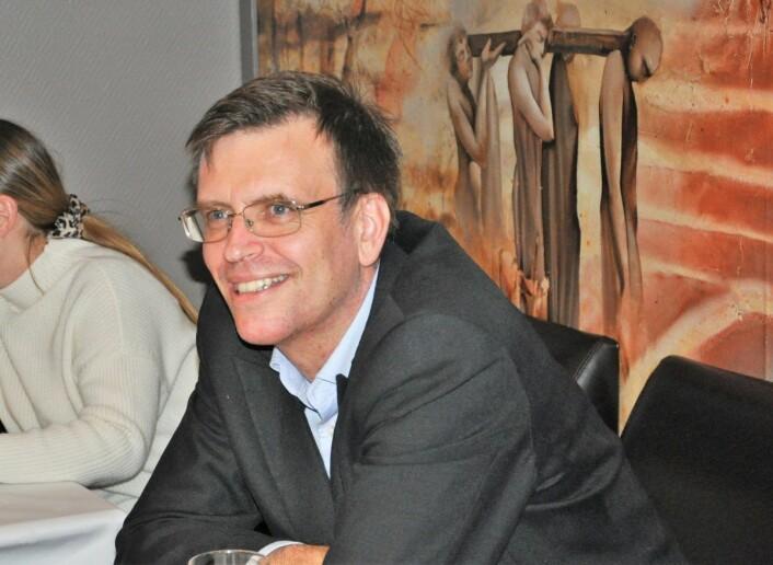 FNBs toppkandidat i Oslo, Bjørn Revil, kan se frem til fire år som bystyrerepresentant etter at partiet gjorde et svært godt valg i Oslo. Foto: Arnsten Linstad
