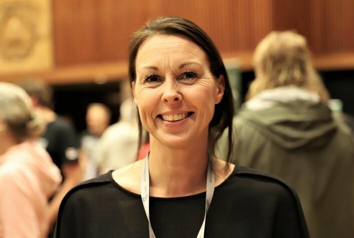 Tonje Anholt håpet på publikumsrekord på Fyll Dagene 2019. Det fikk hun. Foto: André Kjernsli