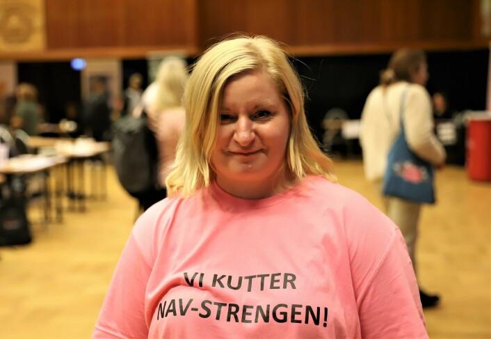 Nina Johansen (41) er nå rusfri og i full jobb. — En befrielse å ta ansvar for eget liv, sier hun. Foto: André Kjernsli