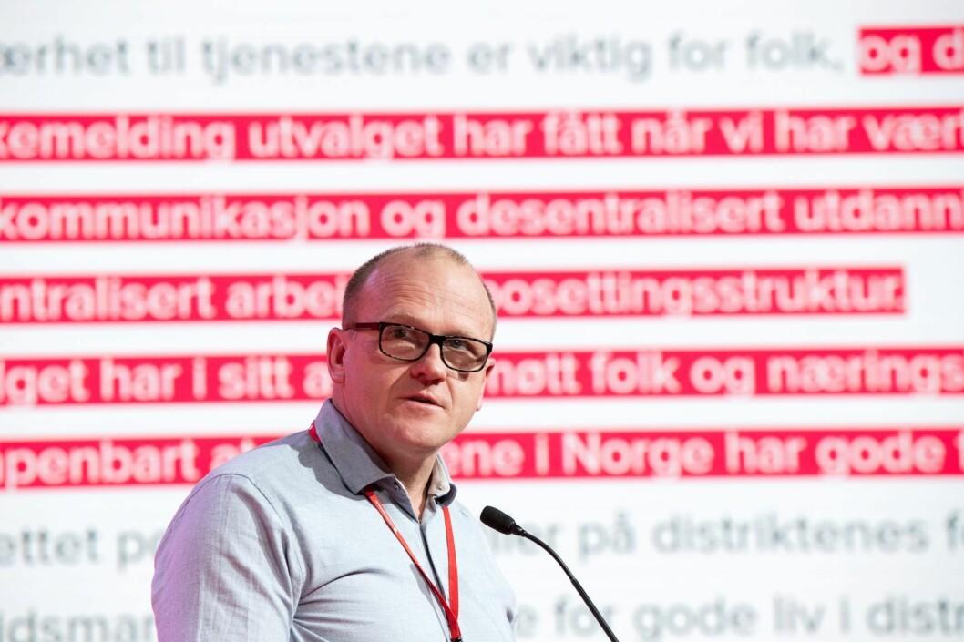 Oslo Arbeiderpartis leder Frode Jacobsen mener det ikke er noen grunn til å endre på eiendomsskatten i Oslo, slik SV krever. Foto: Terje Pedersen / NTB scanpix