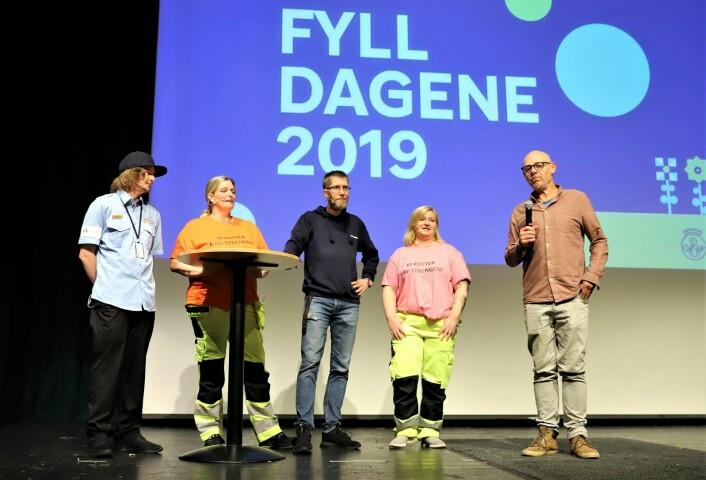 Espen Thoresen introduserte fire personer som har fått livene sine på rett kjøl igjen. Foto: André Kjernsli