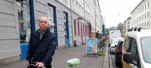 De vernede lindetrærne i Thorvald Meyers gate er saget ned. Hva skjer?