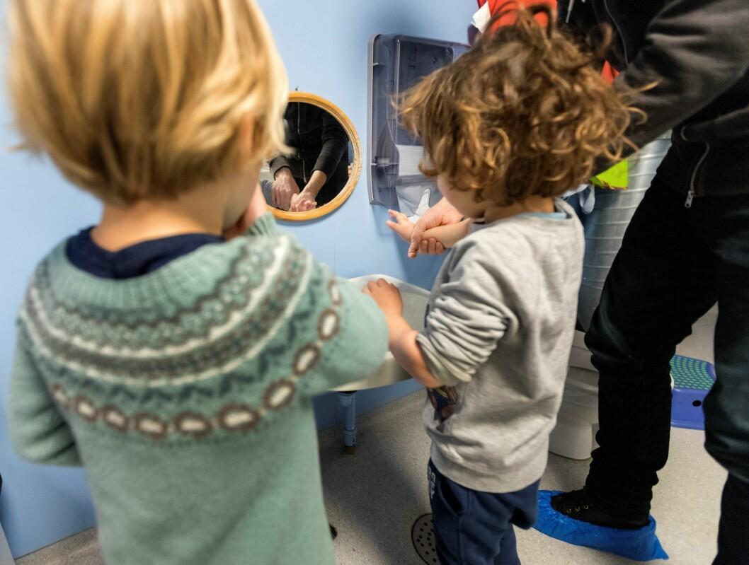 Kriterier ved flere private barnehager i Oslo kan bidra til å ekskludere minoritetsbarn. Foto: Gorm Kallestad / NTB scanpix