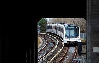 Ruter varsler nye T-baneavvik i høst
