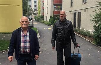 69-åringene Yasin og Modar ble nektet reise med DFDS til København. De to er svært opprørte. Fergeselskapet legger seg flat