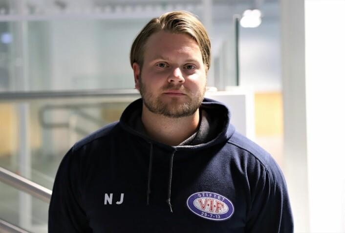 Niclas Johansson gleder seg til spill i eliteserien. I fjor ble han poengkonge i 1. divisjon. Foto: André Kjernsli