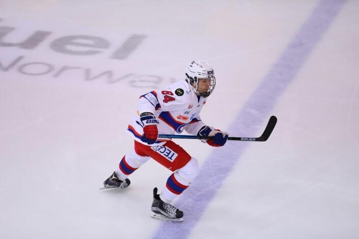 Leo Halmrast klarte seg fint i debuten. Foto: André Kjernsli