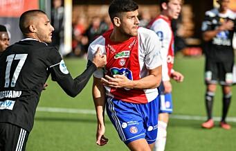 David Tavakoli ble matchvinner mot gamleklubben da KFUM kriget seg til 2-1 over Skeid