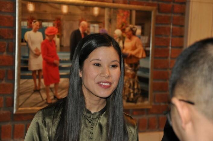 Miljø- og samferdselsbyråd Lan Marie Berg (MDG) erkjente i bystyret at hennes byrådsavdeling kjente til omfattende brudd på arbeidsmiljøloven ved energigjenvinningsetaten. Men fastholder at hun har overholdt sin informasjonsplikt. Foto: Arnsten Linstad