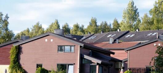 – Dagens eiendomsskatt skaper en segregert by. Men kanskje kunne man beskatte sekundærboligen