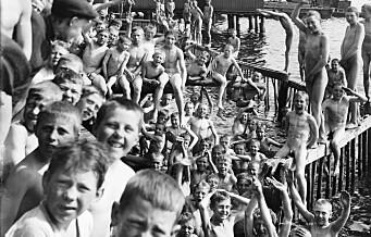 Badeanlegg i Bjørvika er ikke noe nytt. Allerede i 1820 ankret den første «Bademaschin» opp i Bjørvika