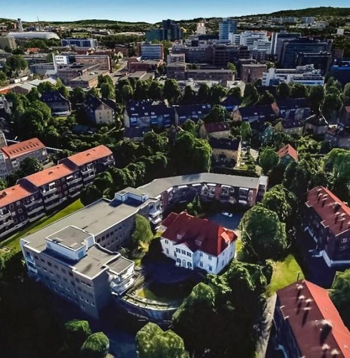 Ensjøtunet bo- og behandlingssenter eies av Frelsesarmeen og ligger i Malerhaugveien i bydel Gamle Oslo. Foto: Frelsesarmeen