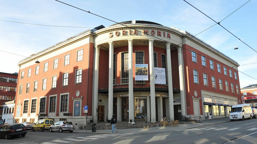 Kulturhuset Soria Moria er et samlingspunkt i bydel Sagene. Foto: J. P. Fagerback / Wikipedia