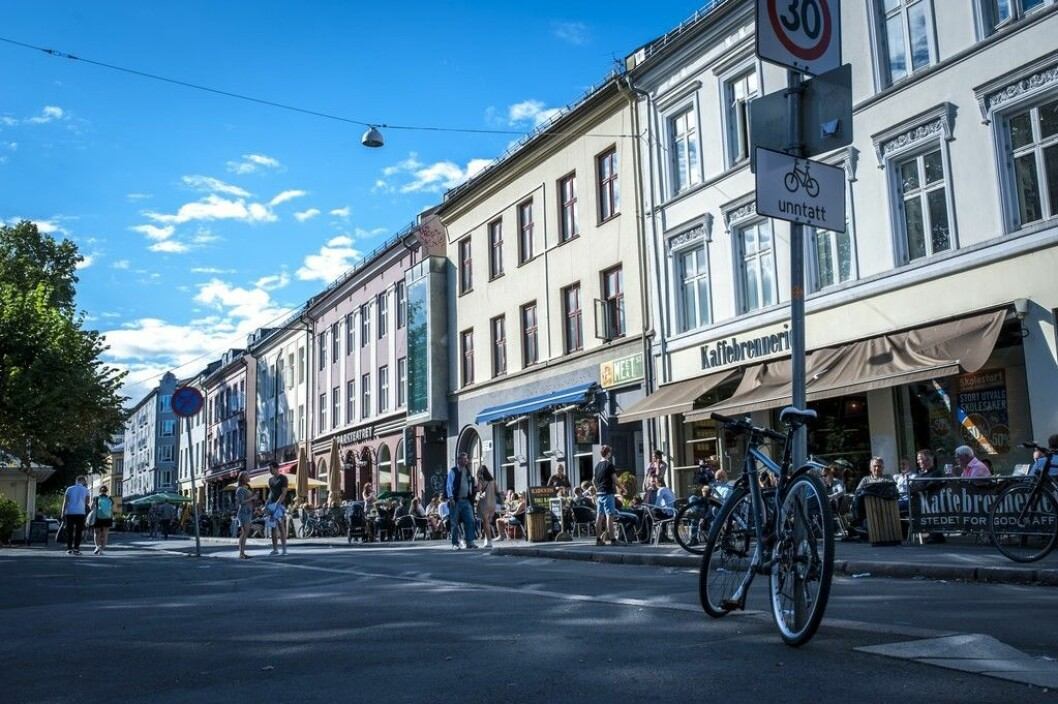 Olaf Ryes plass er et samlingspunkt i bydel Grünerløkka. Foto: Thomas Johannessen