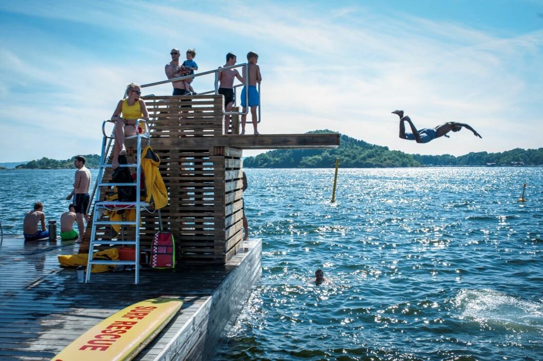 Sommeren har levert gode tall for besøksnæringen i hovedstaden.  Foto: Thomas Johannessen